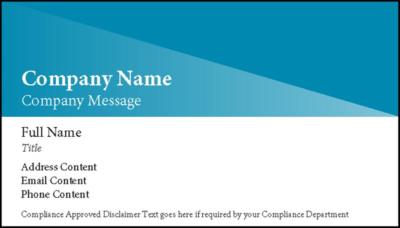 Prism design business card with logo colourmoves